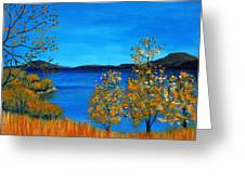 Golden Autumn Greeting Card