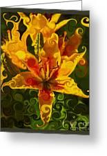 Golden Beauties Greeting Card