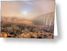 Golden Bridge Greeting Card