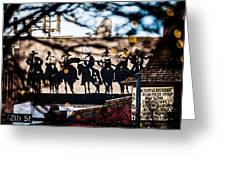 Golden Co Greeting Card