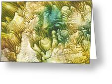 Golden Coral Greeting Card