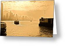 Golden Day Greeting Card by Richard WAN