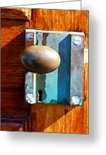 Golden Door Greeting Card