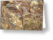 Golden Dream Greeting Card