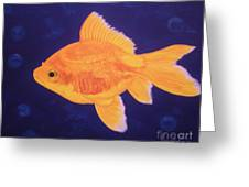 Golden Fish Greeting Card