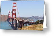 Golden Gate 8055 Greeting Card