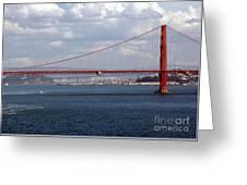 Golden Gate Bridge 2 Greeting Card