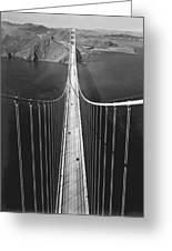 Golden Gate Bridge In 1937 Greeting Card