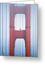 Golden Gate Bridge San Francisco California Greeting Card