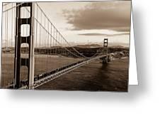 Golden Gate Glory Greeting Card