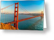 Golden Gate - San Francisco Greeting Card