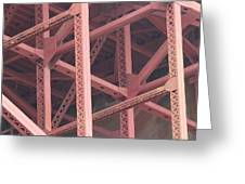 Golden Gate's Skeleton Greeting Card