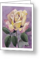 Golden Glory Greeting Card by Nancy Edwards