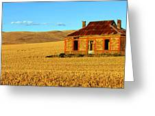 Golden Harvest Greeting Card by Bill  Robinson
