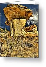 Golden Hoodoo Greeting Card