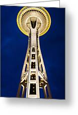 Golden Hour Tower Greeting Card