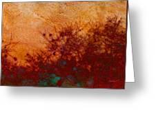 Golden Light - Nature Art Greeting Card