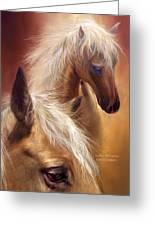 Golden Palomino Greeting Card