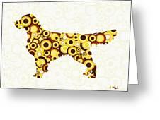 Golden Retriever - Animal Art Greeting Card