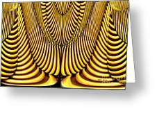 Golden Slings Greeting Card