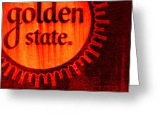 Golden State #2 Greeting Card