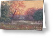 Golden Sunrise - June Greeting Card