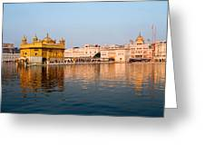 Golden Temple And Akal Takht Greeting Card