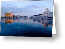Golden Temple Complex Greeting Card