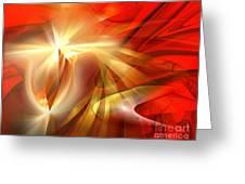 Golden Tulip - Marucii Greeting Card