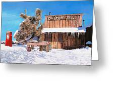 Goldpoint-nevada Greeting Card