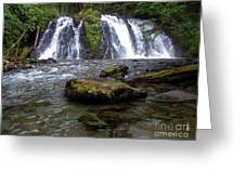 Goldrush Falls Greeting Card