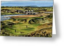 Clare  Golf At Lahinch Gc Greeting Card