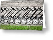 Golf Carts Greeting Card