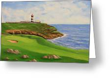 Golf Old Head Of Kinsale Greeting Card