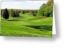 Golfer's Dream Greeting Card