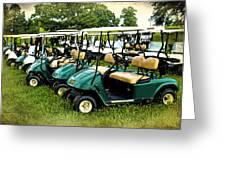 Golfers Take Your Pick Greeting Card
