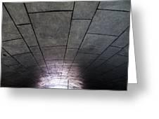 Gondola Ride Tunnel Greeting Card