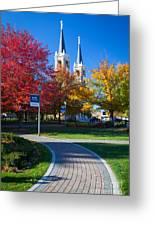 Gonzaga Pathway Greeting Card