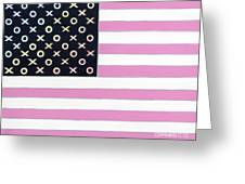 Good And Plenty America Greeting Card