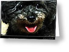 Good Dog . Affiche Greeting Card