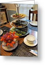 Good Eats In A Lovely Setting Greeting Card