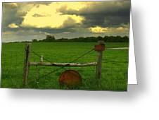 Good Fences Greeting Card