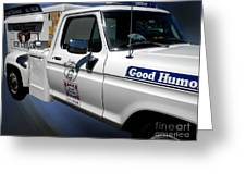 Good Humor Ice Cream Truck 02 Greeting Card