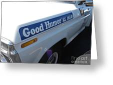 Good Humor Ice Cream Truck 03 Greeting Card
