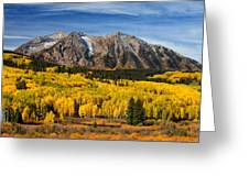 Good Morning Colorado Greeting Card