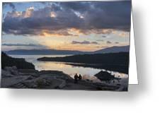 Good Morning Emerald Bay Greeting Card