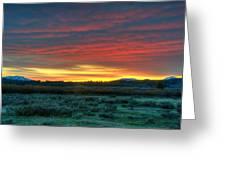 Good Morning Jackson Hole Greeting Card