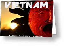 Good Morning Vietnam Movie Poster Greeting Card