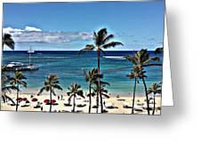 Good Morning Waikiki Greeting Card