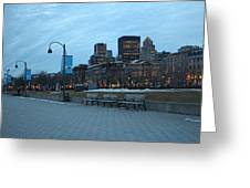 Good Night Montreal Greeting Card